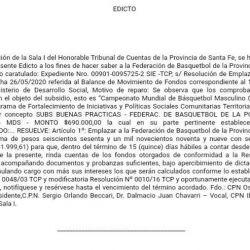 El Tribunal de Cuentas pide explicaciones a la Federación