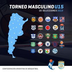 ARGENTINO U15: Santa Fe debuta el 23 en el Otrino, ante San Luis