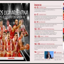 Unión lanzó su primera revista digital íntegramente del básquet