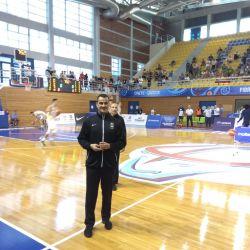 Juan Fernandez en la Final del Mundial U19